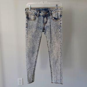 Buffalo David Botton Acid Wash Jeans